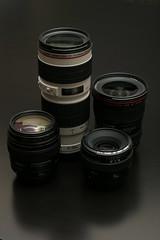 Canon EF Family (out of date) (mini/eng) Tags: lighting family canon lens flash explore 100 50 70200 ef 1740 interestingess explored i500 strobist explore20070116