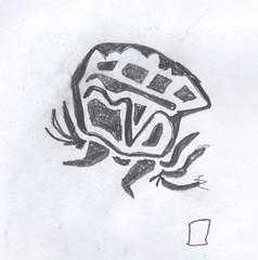 "Ah Yeah! (Mike ""Dakinewavamon"" Kline) Tags: art sketch unknown what draw scribble"