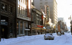Feb. 20, 1972 (colros) Tags: snow montreal