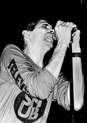 Steve Albini with Shellac live in Dublin 1998 (Dave Road Records) Tags: ireland blackandwhite music dublin shellac bigblack stevealbini
