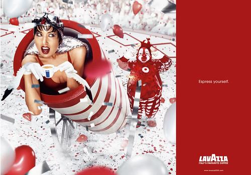 Lavazza: publicidad de café