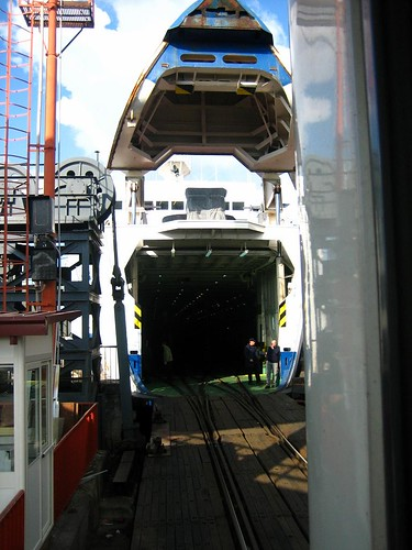 The train-ferry.  Cool, right?