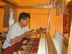 Weaver in Teotitlan del Valle, Oaxaca