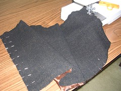 skirt piece with lining