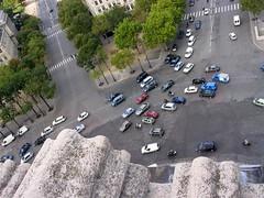 A view from Arc de Triomphe (Crt Ahlin) Tags: travel paris france pariz