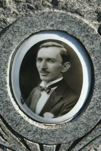 Headstone photograph