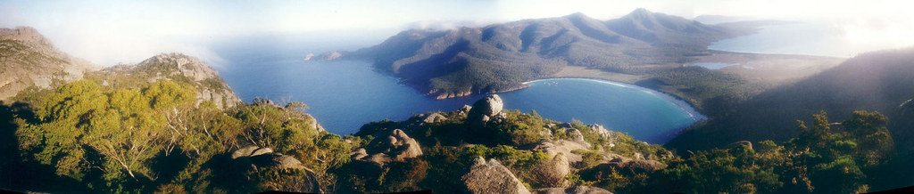 Wineglass Bay Pano