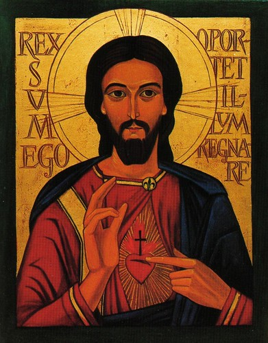 Icon of the Sacred Heart of Jesus