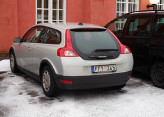 Already dirty, after one day (jimmyroq) Tags: winter car volvo c30 volvoc30