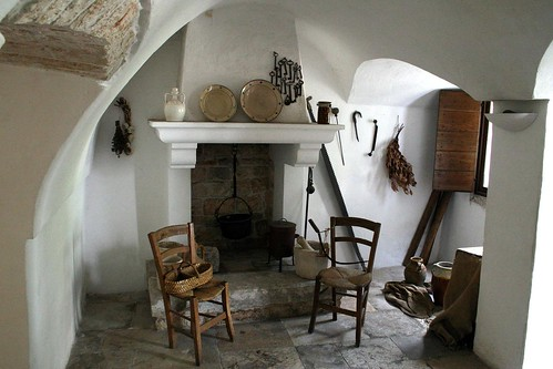 One of the kitchens in the Trullo Sovrano