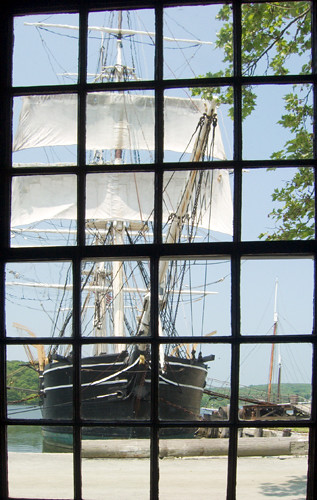 Whaling Ship in Mystic Sea Port