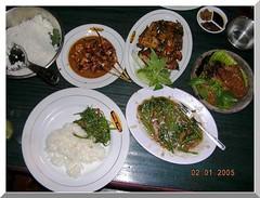 Menu Wong Solo Makassar