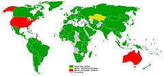 Kyoto Protocol - Participation Map 2005