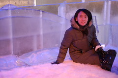 Pauline in the Ice Bedroom