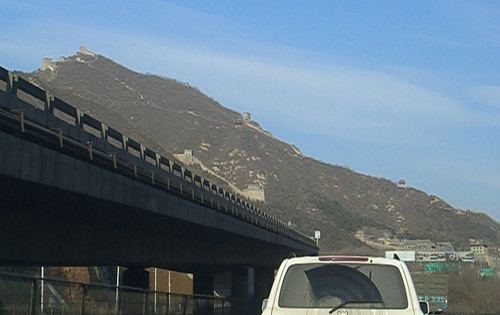 Approaching the Great Wall