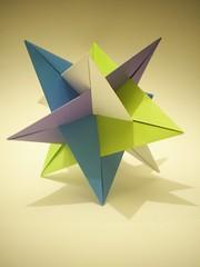 Planar WXYZ (Camilla Morselli) Tags: paper origami modular papel planar