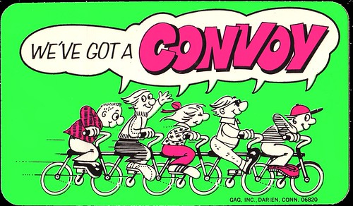 Cereal Lite Ups - We've Got A Convoy - Honeycomb cereal premium sticker - 1977