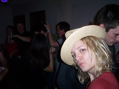 Cowgirl Beth (Brian Indrelunas) Tags: party alex hat dance cowboy beth cowgirl brokeback