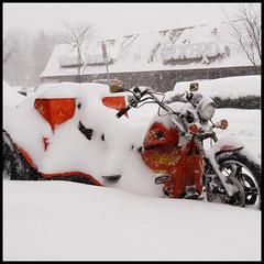 We meet again (King'76) Tags: usa snow ny topv111 america snowstorm rochester trike february blizzard 1x1 2007 king76 sigma1770 1770mmf2845dcmacro sigma1770mmf2845dcmacro