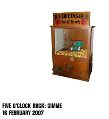 Five O'Clock Rock: Gimme