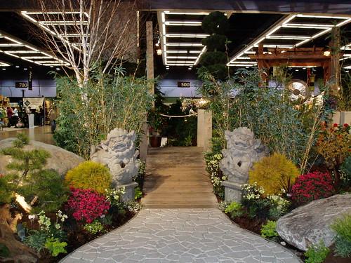 Entrance to Zen Garden