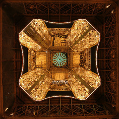 At night (Curlgirl1) Tags: light paris france night bravo eiffeltower illumination eiffelturm outstandingshots