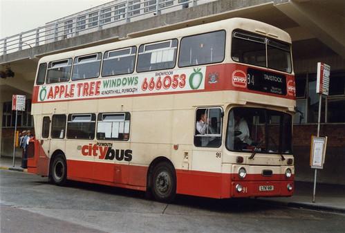 91 LTK91R Plymouth Citybus