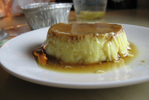 surprisingly good flan