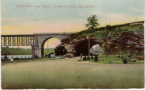 River Drive and Tunnel, Fairmount Park