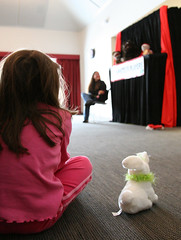 Best seat in the House (dshearer) Tags: newyork cute bravo photojournalism puppets workrelated putnamcounty 4hpuppeteers cornellcooperativeextension