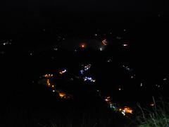 瑞士農園民宿~的夜景