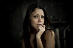 Coqueta (Luis Montemayor) Tags: portrait woman face mexico mujer df pretty retrato hermosa rostro myfavs filmacion coqueta