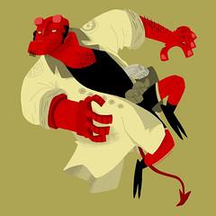 Hellboy Jump