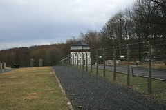 fence and tower
