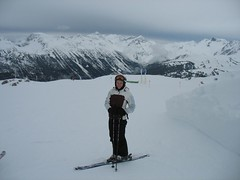 Take the photo fast ! It is a bit cold ! (alexandrecc) Tags: ski canon whistler a610