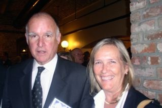 Jerry Brown with Admiral Fox