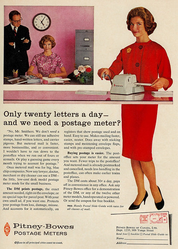 Vintage Ad #180 - Do We Need a Postage Meter, Mr. Smithers?