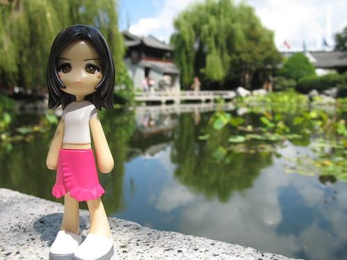 Sayuri at the Garden