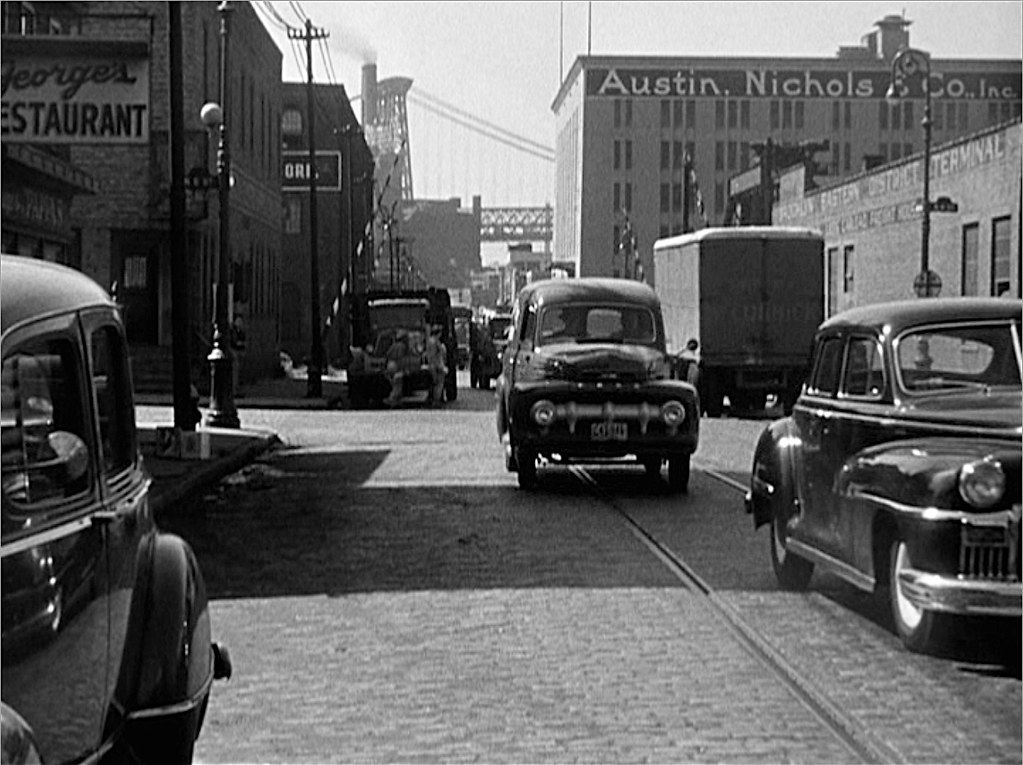 Kent Avenue @ North 6th: 1953 #1