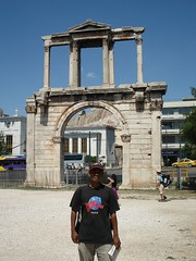 'Arch of Hadrian', Athens, Greece