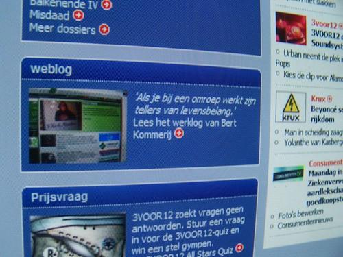 weblog op www.omroep.nl