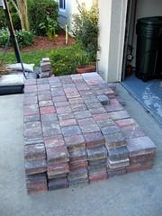 Bricks in my Driveway