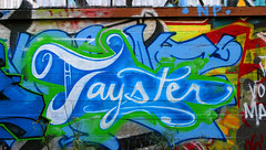 Tayster (funkandjazz) Tags: sanfrancisco california graffiti tay tayone tayster