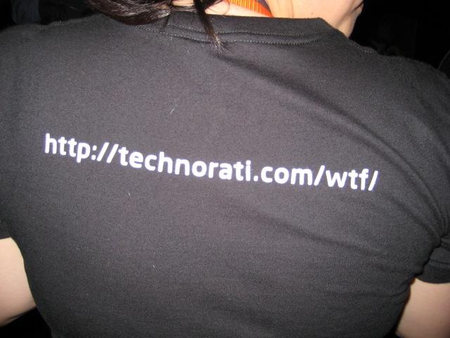 Technorati wtf?