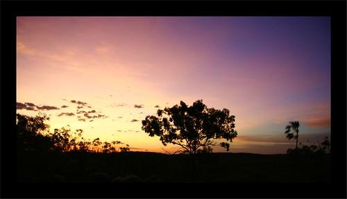 Sunset - Kathrine National Park