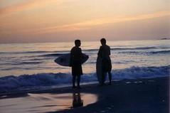 Skim session (russellduren) Tags: sunset beach friendship skimboard