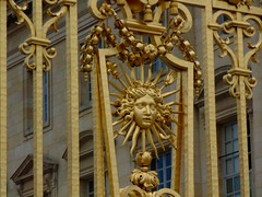 Le Chteau de Versailles (stephanie.desousa27) Tags: gate gold versailles paris france europe palace frenchhistory sunking