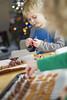 346/366 (grilljam) Tags: december2016 winter makingreindeernoses firsttreatsoftheseason christmascandy seamus 4yrs ewan 7yrs