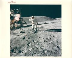 a16_v_c_o_AKP (AS16-113-18342) (apollo_4ever) Tags: humanspaceflight nasa nasaspacecraft rocketman oldgloryonthemoon manonthemoon menonthemoon maninspace moonbuggie apollospacesuit moonmissions apollolunarmodule lunarrovervehicle apollospaceprogram highgainantenna apollomoonbuggy lrv glossyphoto lunarsalute lcru boeinglunarrover moonbuggy moonrover moonwalk eva extravehicularactivity charlesduke descarteshighlands apollo16 charlieduke