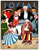 Young Cuba - Social Magazine, May 1919 (Sandy Qumbayah) Tags: cuba magazine poster cover cuban revista annivesary england mexico unitedstates unclesam germany china france italy massaguer spain independence conrad cartoon girl symbol flag kuba deutschland racist caricaturas imperialism worldpowers diplomacy history costumes wounded